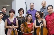 Contemporary tunes in Hanoi New Music Ensemble concert