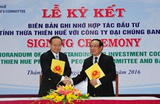 Thua Thien-Hue targets over 448 mln USD in investment