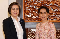 Myanmar Foreign Minister meets UN envoy