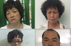 Four Chinese arrested in HCM City for swindling