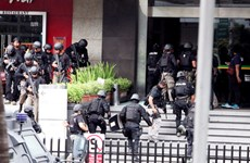 Suicide bomber attacks police station in Indonesia