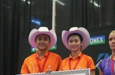 Vietnamese pair clinch Canada Open badminton title
