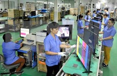 Local enterprises upbeat about business production in H2