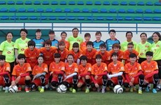 Vietnam's female football team to have friendlies in Czech Republic