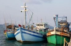 Thai navy open fire on Vietnam's fishing boats, injuring two