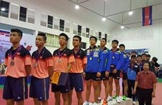 Vietnam win three silver medals in table tennis championship