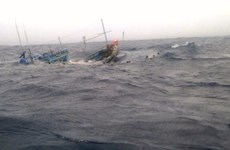 Trade union protests China sinking Vietnamese fishing boat