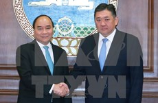 PM meets Mongolian parliament speaker
