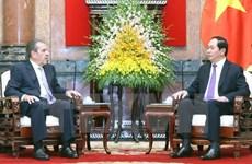 Former Chilean President Eduardo Frei Ruiz-Tagle visits Vietnam
