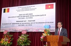 Belgium's 185th National Day marked in Hanoi