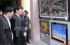 First Vietnam-RoK contemporary art exhibition opens