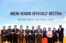 ASEAN senior officials discuss preparations of 49th AMM