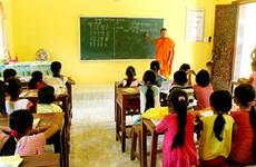 Kien Giang encourages Khmer teaching to ethnic children