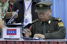 Myanmar holds ethnic summit with armed groups