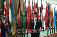 Vietnamese students attend global youth forum