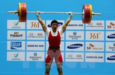Vietnam pins Olympic medal hope on weightlifting