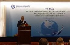 Workshop evaluates Brexit impacts on ASEAN