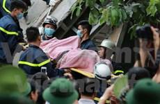 Last victim of building collapse in Hanoi found dead