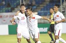 Japanese company to continue sponsoring VN national football team