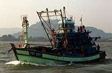 Myanmar seizes illegal Thai fishing boat