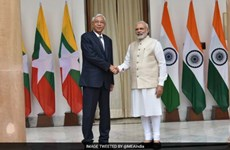 Indian PM appreciates relations with Myanmar