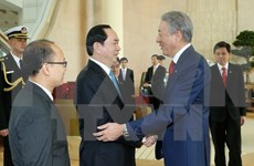 President wraps up State visit to Singapore