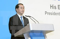 President Tran Dai Quang's speech at Singapore Lecture