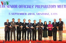 Senior officials of ASEAN countries meet