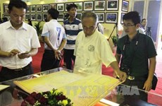 Exhibition on islands in East Sea arrives in Son La