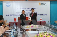 Vietnam, Japan boost cooperation in ICT