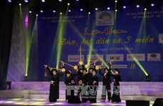Folk music festival kicks off in Kien Giang