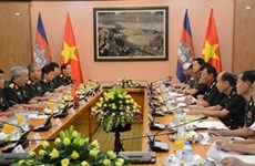 Second Vietnam-Cambodia defence policy dialogue held in Hanoi