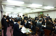 Event in Osaka connects Vietnamese students and Japanese SMEs