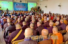 Seminar looks into Buddhist Sangha's 35-year development