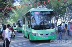 HCM City pilots electricity-powered bus service