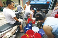 Clean water shortage in Hanoi pending new pipeline