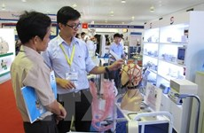 Vietnam Medi-Pharm expo 2015 opens in HCM City