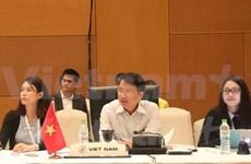 ASEAN senior officials meet ahead of economic ministerial meeting