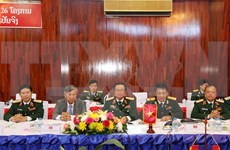 Vietnam, Laos applaud defence cooperation outcomes
