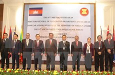 ASEAN officials gather in Cambodia to tackle cross-border crimes
