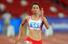 Vietnamese athlete wins 200m gold at Thai Open