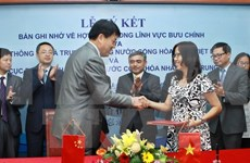 Vietnam, China strengthen postal cooperation