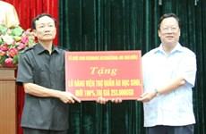RoK organisation supports needy students in Ninh Binh