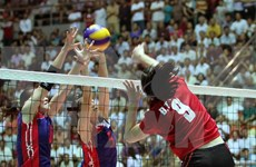 Nine clubs compete for Asian women's volleyball championship
