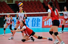Lienvietpost lose opening match at volleyball championship