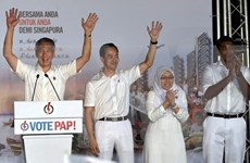 Party leader congratulates Singapore's PAP on election win
