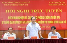 Deputy PM: priority capital for disaster mitigation projects