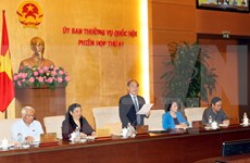 NA's Standing Committee convenes 41st session