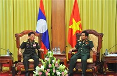 Vietnam, Laos tank-artillery forces boost training cooperation