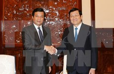 Outgoing Lao Ambassador vows to nurture relations with Vietnam